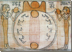 De scheppingsmythe van Hermopolis-Magna