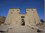 De tempel van Chonsoe te Karnak