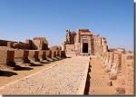 De tempel van Deir el-Haggar