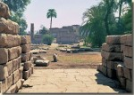 De tempel van Monthoe in El-Tod