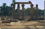 De tempel van Monthoe in Medamoed - Eerste Tussenperiode tot het Nieuwe Rijk